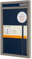 Набор Moleskine BUNDLE VERTICAL Classic Large, блокнот и ручка, линейка, синий