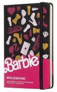 Блокнот Moleskine Limited Edition BARBIE Pocket, нелинованный Accessories