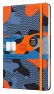 Блокнот Moleskine Limited Edition  BLEND LGH Large, линейка Camouflage orange