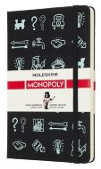 Блокнот Moleskine Limited Edition MONOPOLY Large, линейка Icons