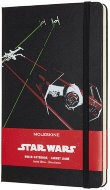 Блокнот Moleskine Limited Edition STAR WARS Large, линейка, черный Ships
