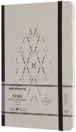 Блокнот Moleskine Limited Edition TIME NOTEBOOKS Large, линейка, черный