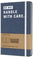 Блокнот Moleskine Limited Edition DENIM Large, линейка, Don`t Handle