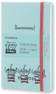 Блокнот Moleskine TOY STORY LARGE Limited Edition, нелинованный, голубой