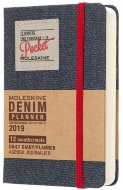 Ежедневник Moleskine Limited Edition DENIM Pocket, черный